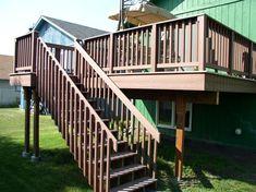 deck stairs ***Repinned by Normoe, the Backyard Guy (#1 backyardguy on Earth) Follow us on; http://twitter.com/backyardguy