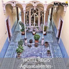 #BuenosDías: #Imagen del día... Hotel Regis fue adquirido por el Gob. de #Aguascalientes y se le otorgó al INAH. Finca construida por Refugio Reyes, el estilo que predomina es Art Nouveau, con una fachada de cantera.