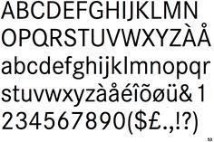 """""""Corporate S"""" font, designed by Kurt Weidemann for Mercedes-Benz in 1990."""