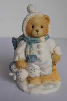 """Sammelfigur - Cherished Teddies - Winter - Weihnachten - EARL """"Warm hearted friends"""""""