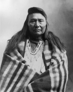 Chief Joseph was the leader of one band of the Nez Perce people (Nimi'ipuu). The Nez Perce resided in the plateaus, mountains & gorges of NE Oregon, southeastern Washington, & western Idaho. The legend of Chief Joseph & his famous retreat has long symbolized the loss of native peoples' lives & cultures in the late 19th century American West. Chief Joseph was born in 1840 & baptized at the Lapwai Mission in Idaho where he was given his Christian name. His native name Hin-mah-too-yah-lat-kekt…