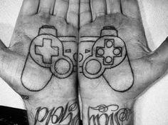 Gamer tattoo. #tattoo #tattoos #ink