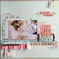 A Project by A Little Peek at Me from our Scrapbooking Gallery originally submitted 03/15/13 at 06:31 AM