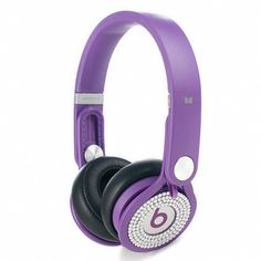 Dr Dre Beats Mixr High Performance Diamond Headphones Purple clearance £106.0.  Save: 69% off
