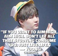 Inspiring quote, thanks Suga!