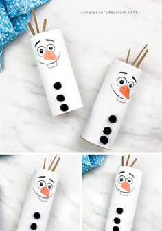 Crafts Make this cute toilet paper roll Olaf craft to celebrate the release of Frozen It's a simple and fun Disney craft for kids to do with the whole family! Disney Crafts For Kids, Winter Crafts For Kids, Crafts For Kids To Make, Toddler Crafts, Paper Crafts For Kids, How To Make, Paper Towel Roll Crafts, Toilet Paper Roll Crafts, Olaf Craft