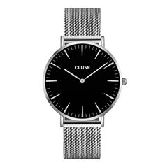 Ladies Cluse La Boheme Mesh Watch is available at Goldsmiths to buy online in our range of Watches. Stainless Steel Mesh, Stainless Steel Bracelet, Mesh Bracelet, Bracelet Watch, Bracelets, Mesh Armband, Black Gold Jewelry, Silver Jewellery, Watch Brands