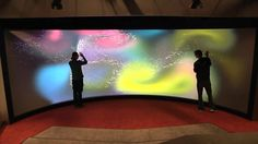 Reality touchscreen University of Groningen