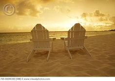 Adirondack Chairs On The Beach - Bing Images