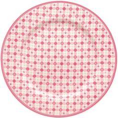 GreenGate Teller - Plate - Mimi Pink 20,5 cm