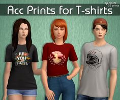 An Unearthly Child: Acc Prints for T-shirts
