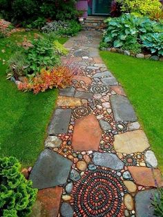 Although the original purpose of creating garden pathway is to serve a practical purpose, it is also an important constituent part of the garden. a garden without paths won't mean a sense of…MoreMore  #LandscapingDIY