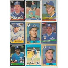 HUGE 50 + Different MIKE MOORE cards lot 1984 - 1994 Mariners Athletics Tigers Listing in the 1980-1989,Sets,MLB,Baseball,Sports Cards,Sport Memorabilia & Cards Category on eBid United States | 147993912