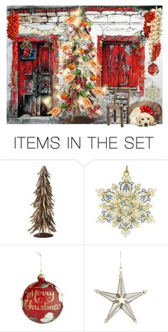 """""""Vegetable Christmas"""" by pepitarita ❤ liked on Polyvore featuring art"""
