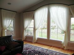 Pinch Pleat Sheers Design Ideas, Pictures, Remodel and Decor