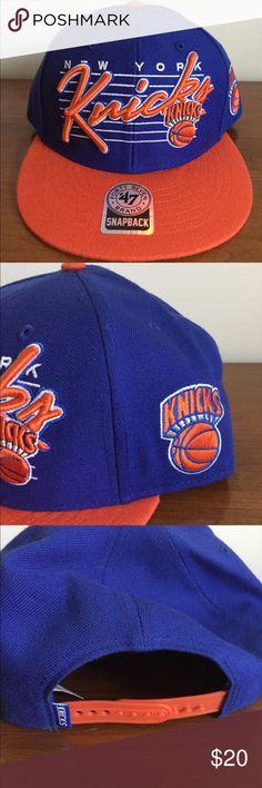 b23cae99ec2 NWT New York Knicks NBA SnapBack Hat New with tags New York Knicks SnapBack  (one size fits all) hat If you share my listings I will return the favor!