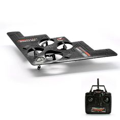 RC Quadcopter Stealth Bomber B2 X-Series - 3-Axis, 2.4GHz Frequency, 100 Meter