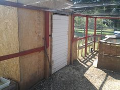 the second larger chicken house.