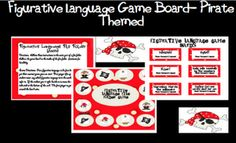 Figurative Language Gameboard - Re-pinned by @PediaStaff – Please Visit http://ht.ly/63sNt for all our pediatric therapy pins