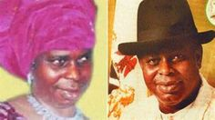 A Former Governor in Nigeria who disguised himself as a woman to escape to from Uk to Nigeria.