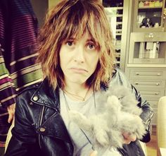 Kate Moenning and bunny
