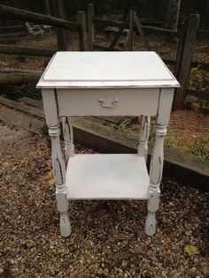 Richmond: Painted French Country 1 Drawer Table $50 - http://furnishlyst.com/listings/611098