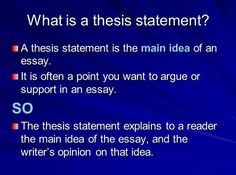 Global warming essay thesis statement