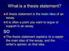leo thesis statement