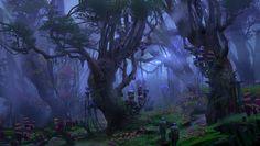 Les fantastiques environnements imaginés par Kood
