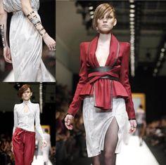 #Leonard FW12/13 Paris Fashion Week - #PFW #ArtEnTissus #ArtEnMatériaux - source @theCaprissimo