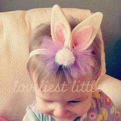 Pascua bunny brillo orejas ven