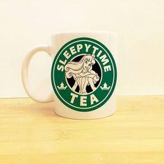 SleepyTime tea mug! Starbucks meet Disney