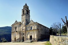 Region de Saint Florent - église Saint-Jean - Santo-Pietro-di-Tenda