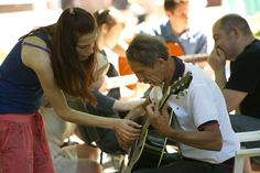 Guitar - musical instrument for all ages. Guitar Musical Instrument, Musical Instruments, Musicals, Age, Couple Photos, Couples, Music Instruments, Couple Shots, Instruments