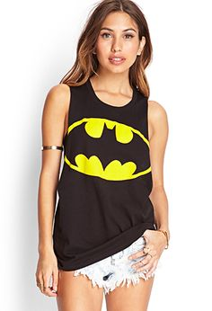 Batman Graphic Muscle Tee | FOREVER21 - 2000104391
