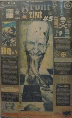 Front Zine Nº 05 publicado pelo Clube dos Quadrinheiros de Manaus no extinto Jornal do Norte em 19 de fevereiro de 1996 com autoria de Fábio Prestes, João Vicente, Mário Orestes Silva e Daniel Dante.