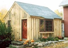 post and beam sheds | 14x18 Post and Beam Shed with Bay Window