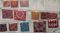 The SSSQ Quilt-Along with Kaffe Fassett is in full swing. Click here for  full details, plus a free pattern from Simple Shapes Spectacular Quilts to  get you started. Join the SSSQ Quilt-Along group on Facebook here.  Authors Kaffe Fassett and Liza Prior Lucy are on board to provide  inspiration, encouragement, and advice. Visit our blog the first Tuesday of  every month for a special post from these superstar quilters. If you can't  wait that long, check in on their blog tour for near-...