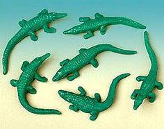Stretchy Green Alligators (12)