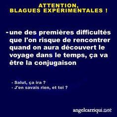 BLAGUES EXPÉRIMENTALES (8) …
