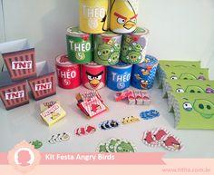 Kit Festa Personalizado Angry Birds - titita.com.br