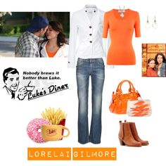 Lorelai Gilmore, created by tinyturtle73 on Polyvore