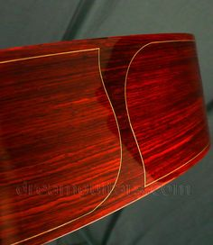 New Woolson OM Double Top - Orchestra Model Cutaway Acoustic Guitar - Wood Lines and Cocobolo Bindings