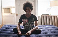 Kenya Robinson: Sleepover Artist in the NY -Article-