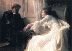 The Athenaeum - The Confession (Sir Francis Bernard (Frank) Dicksee - )