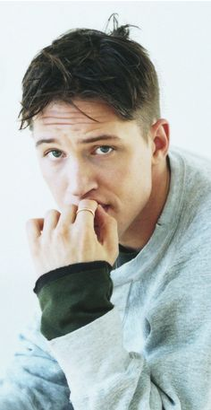 Tom Hardy - I have my own version of what he is thinking here. Its about me and it's too rude to share! LOL