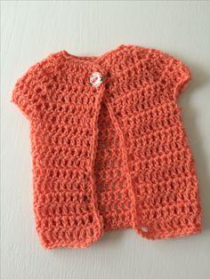 Baby cardigan i stangmasker - Garn Grammatik Baby Born Clothes, Baby Cardigan, Sweaters, Fashion, Knits, Tejidos, Bebe, Grammar, Threading