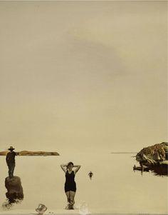 Salvador Dali - White Calm 1936