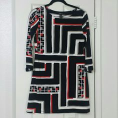 Abstract The Tunic Dress