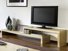 Temahome Cliff TV Stand & Shelf Unit, 3 Choices of Finish - Trendy Products UK LTD